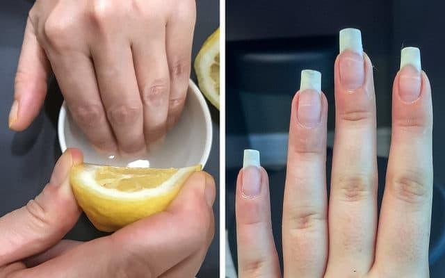 Tırnak bakımı limon ile nasıl yapılır